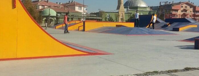 Altındağ Skate Park is one of Skateboarding Spots at Ankara.