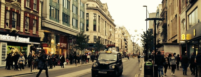 Oxford Circus is one of London, UK.
