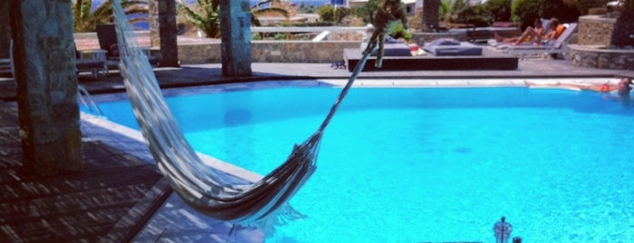 San Giorgio Mykonos is one of Design Hotels.