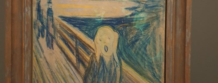 Edward Munch Exhibition is one of Irina : понравившиеся места.