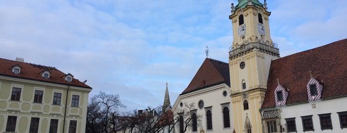 Staré Mesto is one of Anti-crisis Eurotrip.