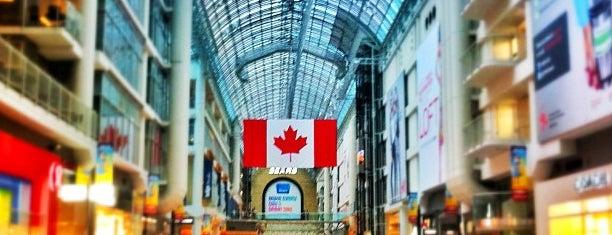 CF Toronto Eaton Centre is one of Toronto.