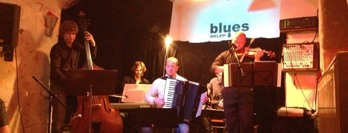 Blues Sklep is one of Jazz clubs.