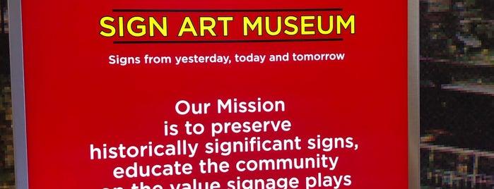 Ignite Sign Art Museum is one of Niki : понравившиеся места.