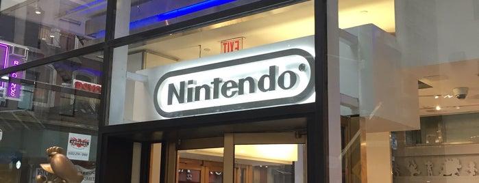 Nintendo is one of สถานที่ที่ Sofia ถูกใจ.