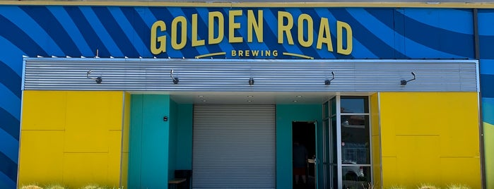 Golden Road Brewery is one of Los Angeles.
