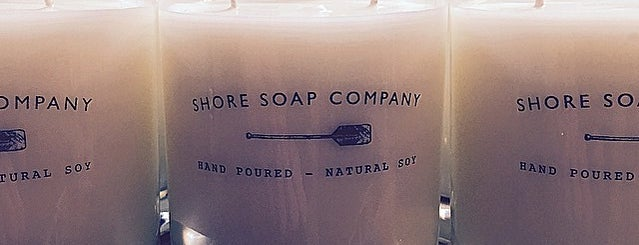Shore Soap Co. is one of Tempat yang Disukai Mike.