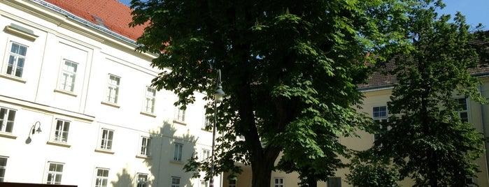 Hof 5 - Campus der Universität Wien is one of Lieux qui ont plu à Paris.