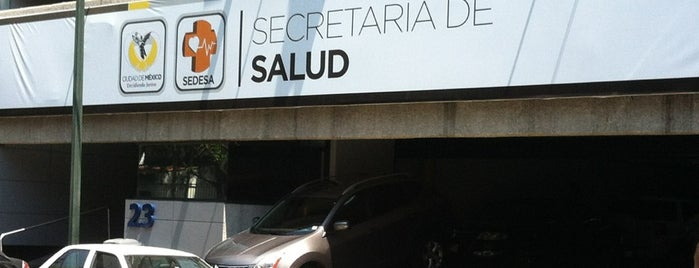 Secretaría de Salud GDF is one of Ricardo 님이 좋아한 장소.