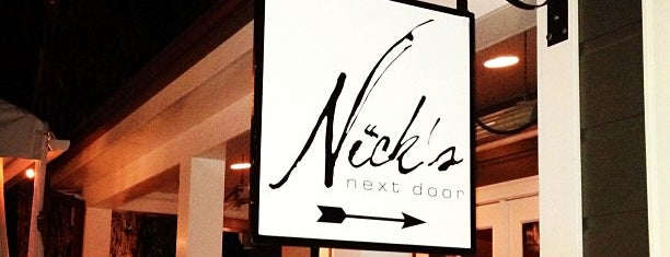 Nick's Next Door is one of South Bay.