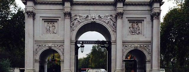 Marble Arch is one of London, UK.