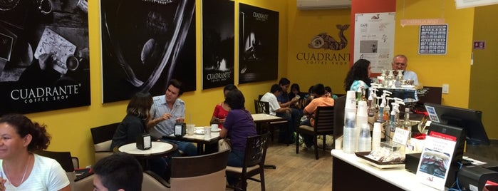 Cuadrante Coffee Shop is one of Café.