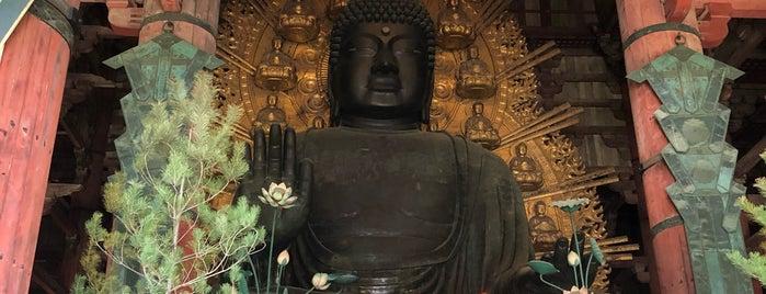 Vairocana Buddha (Nara no Daibutsu) is one of สถานที่ที่ Thiago ถูกใจ.