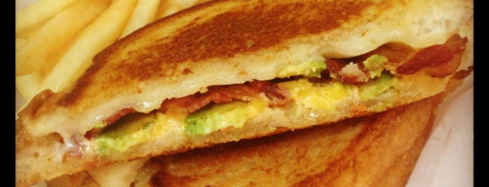 Cory's Grilled Cheese is one of Charleston.
