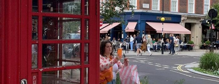 Marylebone is one of Orte, die ste gefallen.
