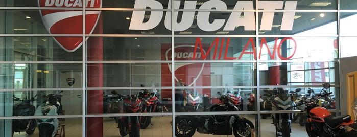 Ducati is one of Milano.