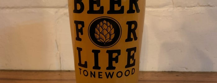 Tonewood Brewing is one of Tempat yang Disukai Joe.