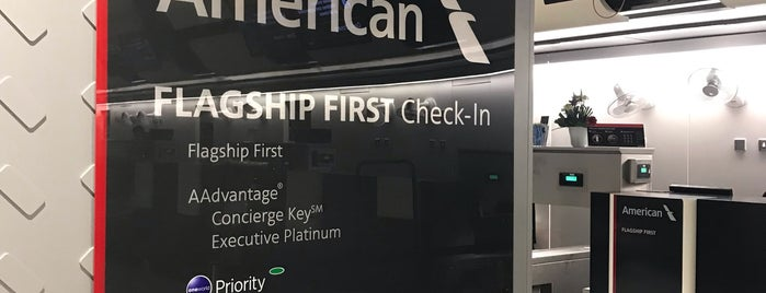 American Airlines Flagship Checkin is one of UK Trip 2014.