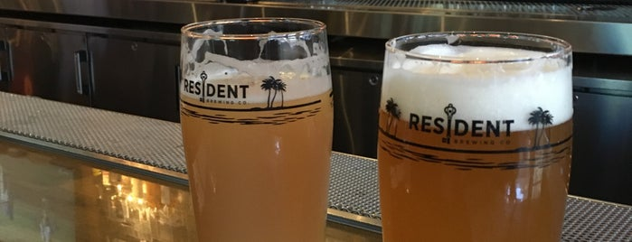 Resident Brewing is one of San Diego.