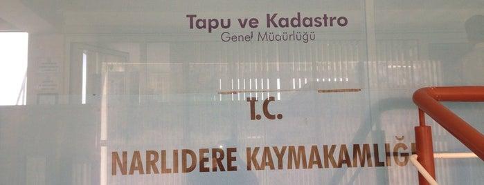 Narlıdere Tapu Sicil Müdürlüğü is one of Locais curtidos por ahmet.