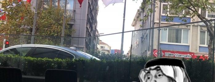 Istanbul Marriott Hotel Sisli Executive Lounge is one of Orte, die Mujdat gefallen.