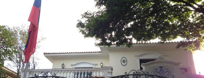 Consulado Geral da Venezuela is one of Lieux qui ont plu à Alberto J S.