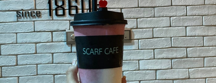 Scarf Cafe مقهى سكارف is one of Tempat yang Disukai Foodie 🦅.