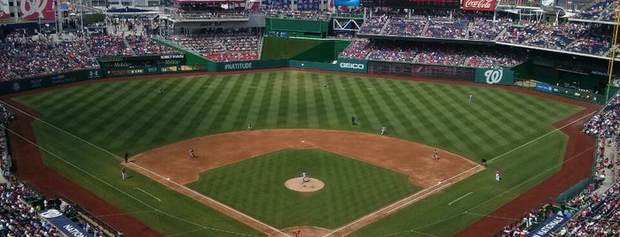 Nationals Park is one of Washington Post WaPro.