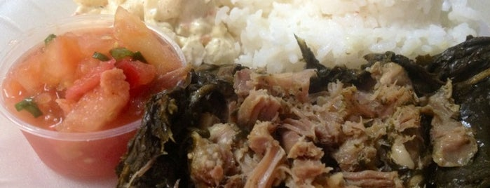 Ka'aloa's Super J's Authentic Hawaiian Food is one of Locais salvos de Julina.