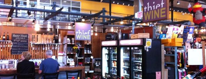 Thief Wine Bar is one of Kyana'nın Kaydettiği Mekanlar.