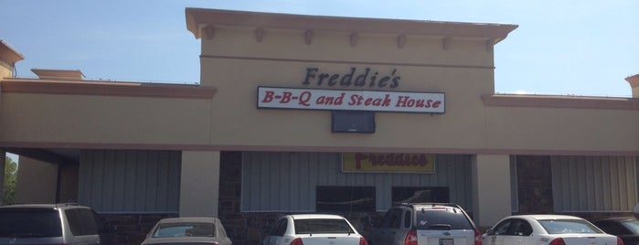 Freddie's Steak House is one of V : понравившиеся места.