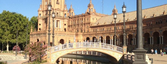 Plaza de España is one of #2019/2020 Sevilla Andalucia.
