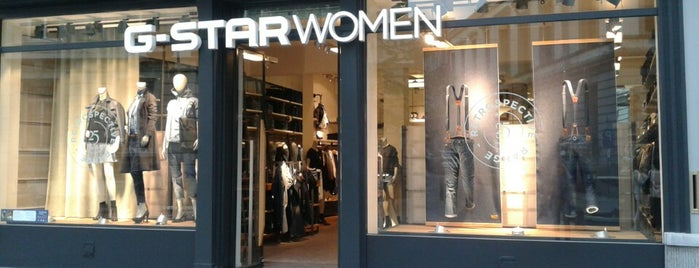 G-Star RAW Women Store is one of สถานที่ที่ Vincent ถูกใจ.