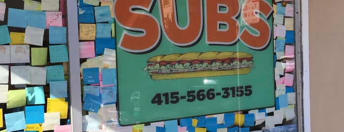 Irving Subs is one of SFO life.