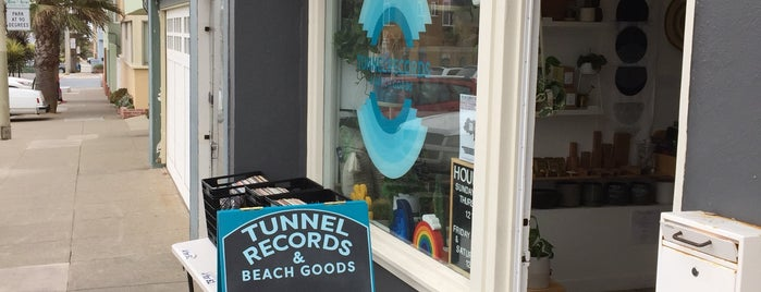Tunnel Records + Beach Goods is one of To go to.