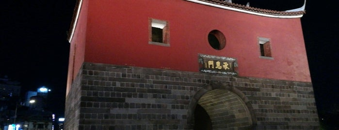North Gate is one of 台湾の歴史遺産(Historical Heritage of Taiwan).