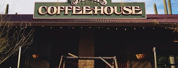 Janey's Coffee House is one of PHX Coffee (indie) in The Valley.