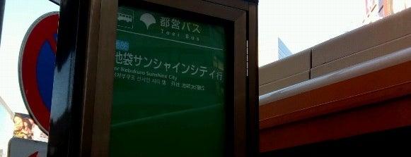 池袋駅東口バス停 is one of Masahiro 님이 좋아한 장소.