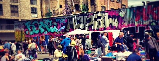 Brick Lane Market is one of London I.