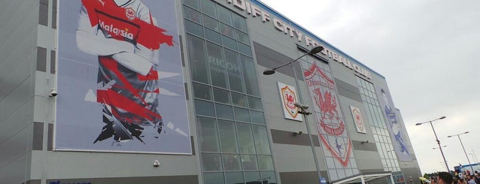 Cardiff City Stadium is one of International Sports~Part 1....