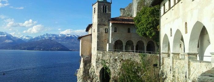 Eremo di Santa Caterina del Sasso is one of Lago Maggiore.
