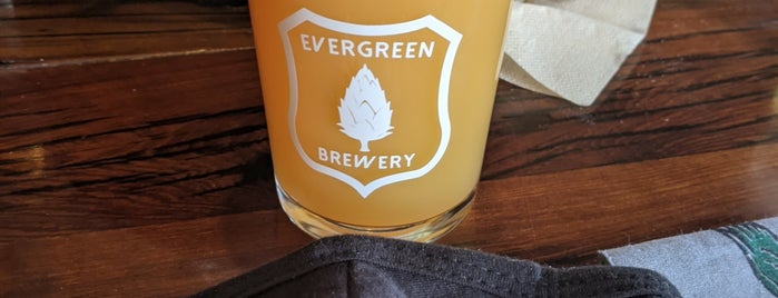 Evergreen Brewery and Tap House is one of Kelly 님이 좋아한 장소.