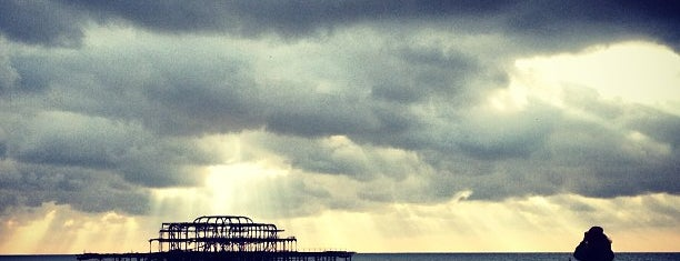 West Pier Beach is one of Tempat yang Disukai Chris.