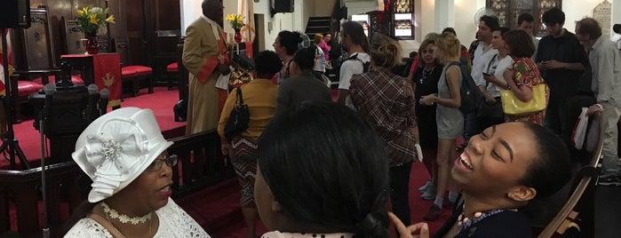 Mother African Methodist Episcopal Zion Church is one of Orte, die Marco gefallen.