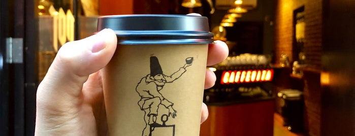 Caffe Vita Coffee Roasting Co. is one of Orte, die Marco gefallen.