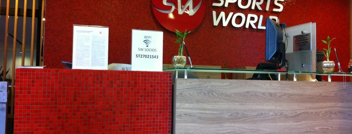 Sports World is one of Veronica 님이 좋아한 장소.