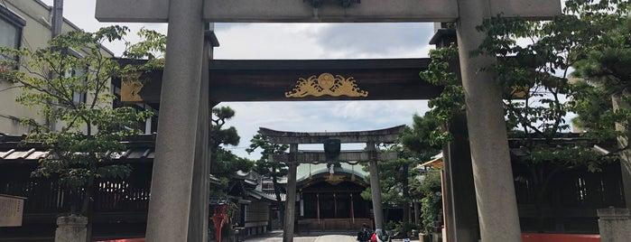 Kyoto-Ebisu-Jinja Shrine is one of Locais curtidos por Shigeo.