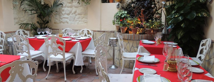 Restaurante Marbella Patio is one of Malaga Specials.