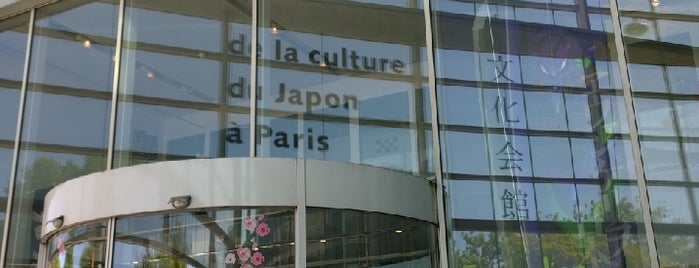 Maison de la Culture du Japon à Paris (M.C.J.P.) • パリ日本文化会館 is one of Esra 님이 좋아한 장소.