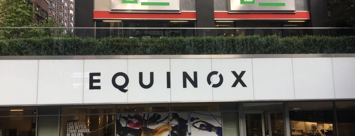 Equinox West 50th Street is one of Locais curtidos por Bridgette.